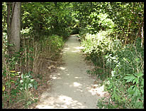 paved path at Fairfield Public Access Site